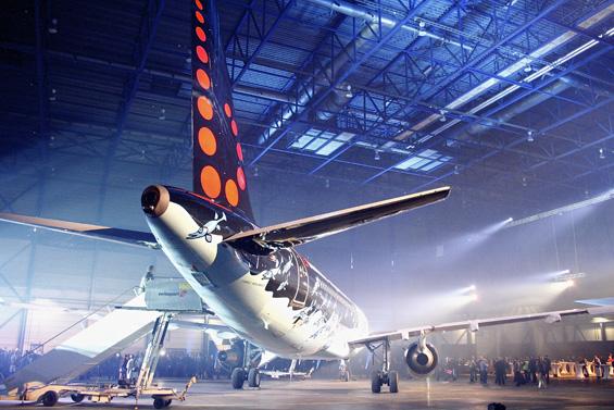 vliegtuig brussels airline