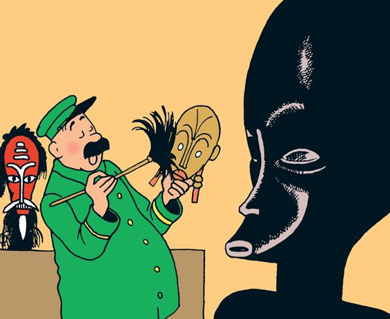 Hergé - Tintin: Den Svarta Ön